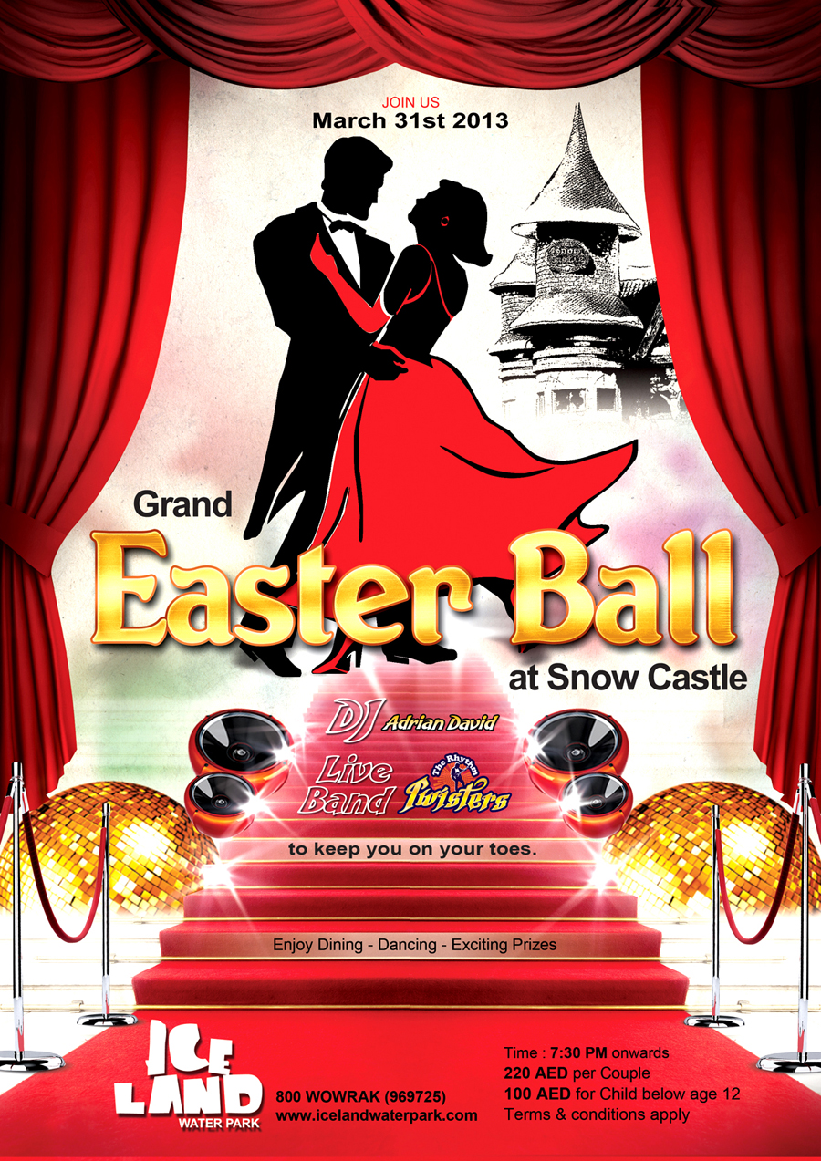 Grand Easter Ball 2013 at Snow Castle